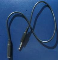 long straight headphone extension lead